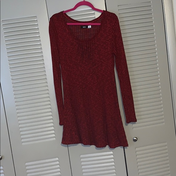 BDG Dresses & Skirts - Red sweater dress
